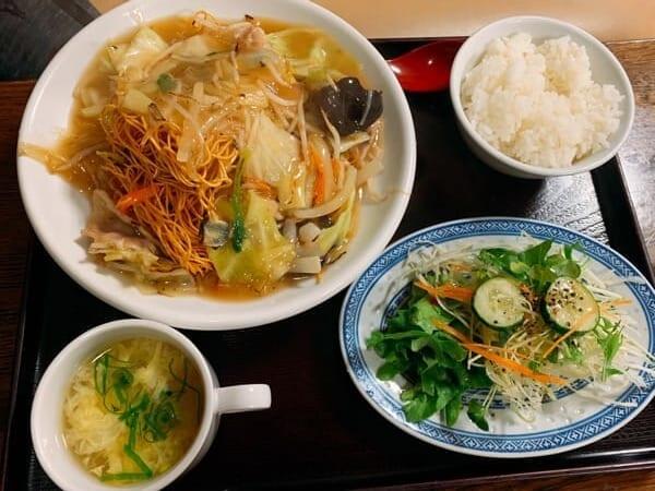 中華料理あさひ 皿そば