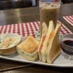 紫園 モーニングサンドイッチ