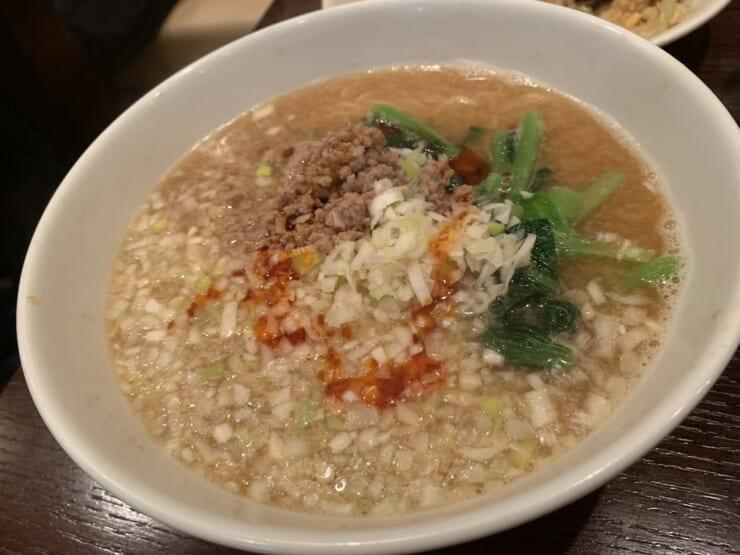 中国菜 秀 坦々麺